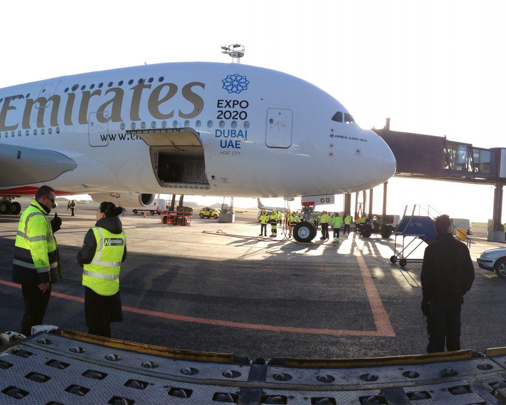Standplads til A380 og udvidelse af Finger C